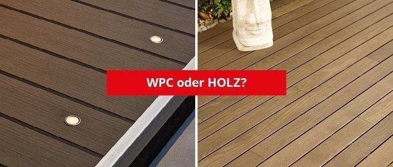 Wpc Terrassendielen Nachteile terrassendielen wpc oder holz